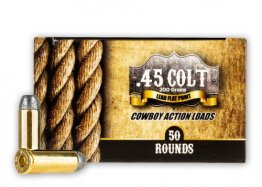 American Cowboy 45 Long Colt - 200 Grain LFN -50 Rounds