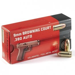 Geco 380 ACP Auto Ammo 95 Grain Full Metal Jacket