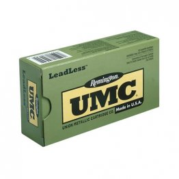 Remington UMC Leadless 380 ACP Auto Ammo 95 Grain Flat Nose Enclosed Base 50rd box