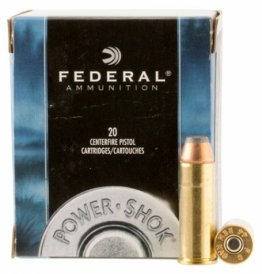 Federal C44B Power-Shok Jacketed Hollow Point 20RD 180gr 44 Remington Magnum