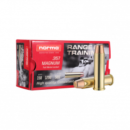 Norma 357 MAG 158gr FMJ - New Brass - 50rd Box