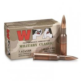 Wolf WPA Military Classic, 7.62x54R, FMJ, 148 Grain, 20 Rounds