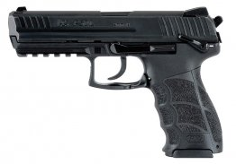 "Heckler & Koch - P30LS Long Slide (V3), 40 Cal, 4.45"", Night Sights, Ambi Safety, Black, 3 13-rd Mags"