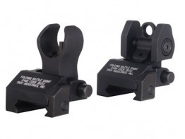 Troy Industries Micro Flip Up Sight Set