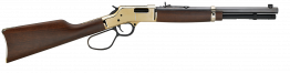 "Henry H006CR Big Boy Carbine 45 Colt (LC) 7+1 16.50"" Polished Brass American Walnut"