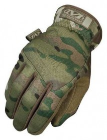 Tactical Full Finger Multi CAM Gloves Large