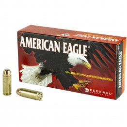 Federal, American Eagle, 10MM, 180 Grain Full Metal Jacket, 50 Round Box