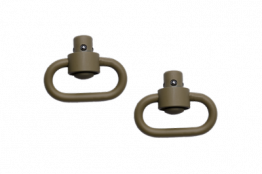 GROVTEC Push Button Swivels - Flat Dark Earth CERAKOTE™
