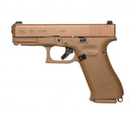"Glock 19X, Semi-Automatic, 9mm, 4.02"" Barrel, Coyote Brown, 19+1 Rounds"
