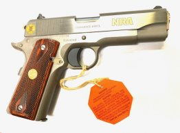 Special Edition 1911 Colt Combat Commander Stainless NRA Edition