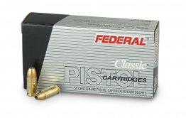 Federal Classic Hi-Shok, 9mm, JHP, 115 Grain, 50 Rounds