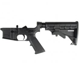 Remington AR15 Complete Lower with 6-Position Stock