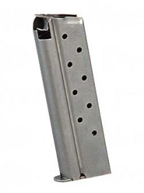 Colt 9rd 1911 9mm Magazine Stainless