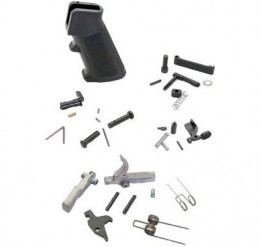 AR15 Mil-Spec AR15 Enhanced Stainless Lower Parts Kit