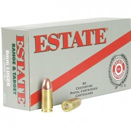 Federal Estate 9mm 115 Grain FMJ 1000rd case