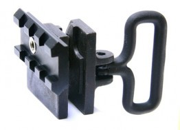 AR-15 / M16 Front Sight Tower Picatinny Rail and Slide Sling Mount