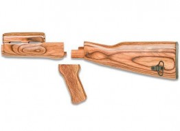 Timbersmith AK47 Brown Laminated Stock Set