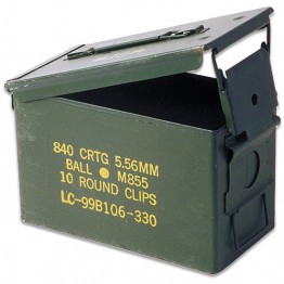 Original M2A1 Military Ammo Can 50CAL