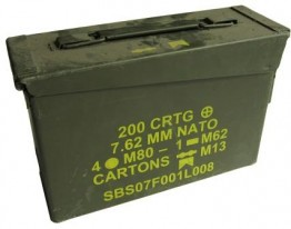 Original M2A1 Military Ammo Can 30CAL