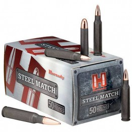 Hornady Steel Match .308 WIN 155gr HP 50rd Box