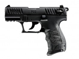 Walther P-22 3.4in Barrel 22lr Pistol BLK