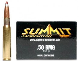 Summit 50BMG APIT-M20 619gr Silver Red Tip 10-Rd Box
