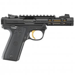 "Ruger, Mark IV, Lite, 22/45, Semi-automatic, 22LR, 4.4"" Gold"