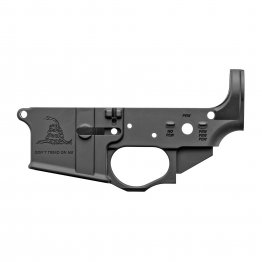 Spike's Tactical Gadsden Flag AR15 Stripped Lower Receiver