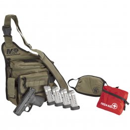 Smith & Wesson, M&P Shield 1.0 Bugout Bag Bundle