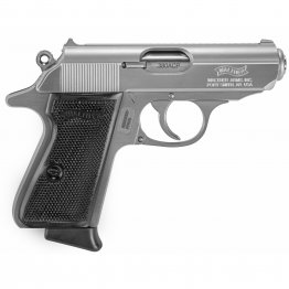 "Walther, PPK/S, Semi-automatic Pistol, 380ACP, 3.35"" Barrel, Steel Frame, Stainless"