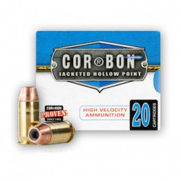 Cor-bon 45 ACP - +P 165 Grain Self-Defense JHP - 20 Rounds