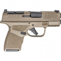 SPRINGFIELD ARMORY Hellcat Micro-Compact 9mm 3in 11rd/13rd Desert FDE Semi-Automatic Pistol Optics Ready