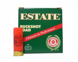 "ESTATE 12 GA 2-3/4"" 00 BUCK 1325 FPS 250rd case"