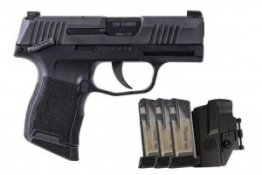 Sig Sauer P365 9MM MS TAC PAC with Manual Safety