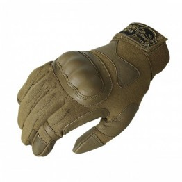 Voodoo Tactical Phantom Gloves with Knuckle Protector FDE
