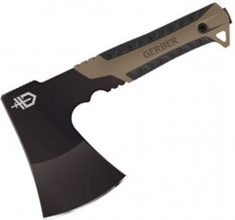 Gerber Pack Hatchet, Black Blade, Coyote Brown