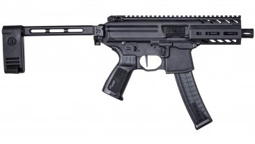 SIg Sauer MPX 9mm Tactical Pistol Side Folding
