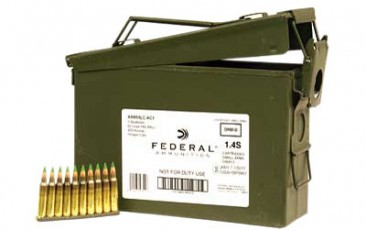 Federal XM855 5.56 62GR FMJ 420rd Can