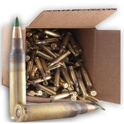 Federal Lake City 5.56mm M855 62 Grain Green Tip 250 Rounds Ammunition
