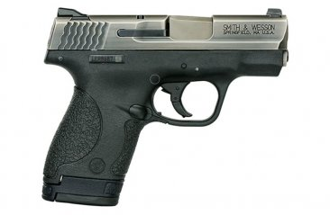 Smith & Wesson M&P9 SHIELD 9mm Handgun w/ Thumb Safety, Battleworn NiB Finish