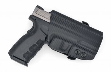Springfield Armory XD Service Model Paddle OWB Black Kydex